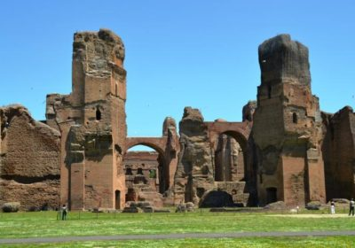 The Baths of Caracalla as we have never seen them: back in time with 3D