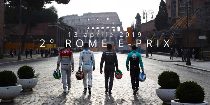 The formula E championship returns to the streets of Rome